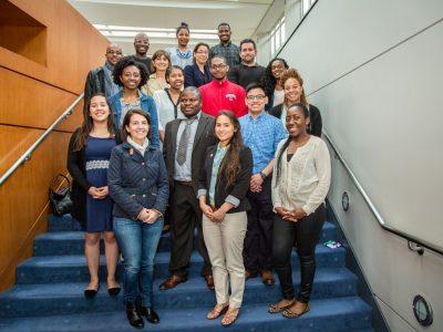 MAC members in group shot with FASEB MARC Travel Award winners