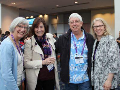 Pamela Fink, Linda Sherman, Jeffrey Frelinger, and Lauren Gross