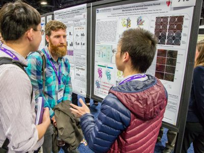 Sharing science during an IMMUNOLOGY 2017™ poster session