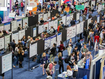 Attendees presenting the latest science at IMMUNOLOGY 2017™