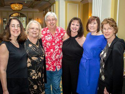 Arlene Sharpe, Susan Swain, Jeffrey Frelinger, Michele Hogan, Linda Sherman, and Katherine Knight